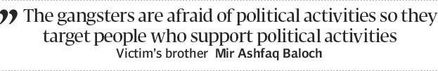 Targeted attack? PML-N leader shot dead in Lyari - The Express Tribune