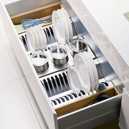 Image Result For Drawer Dish Rack Uk Kitchen Storage Kitchen Accesories Kitchen Accessories