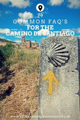 Pinterest FAQs on The Camino de Santiago