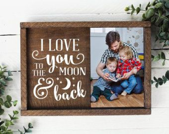 Boyfriend Gift Lucky to Be in Love Picture Frame