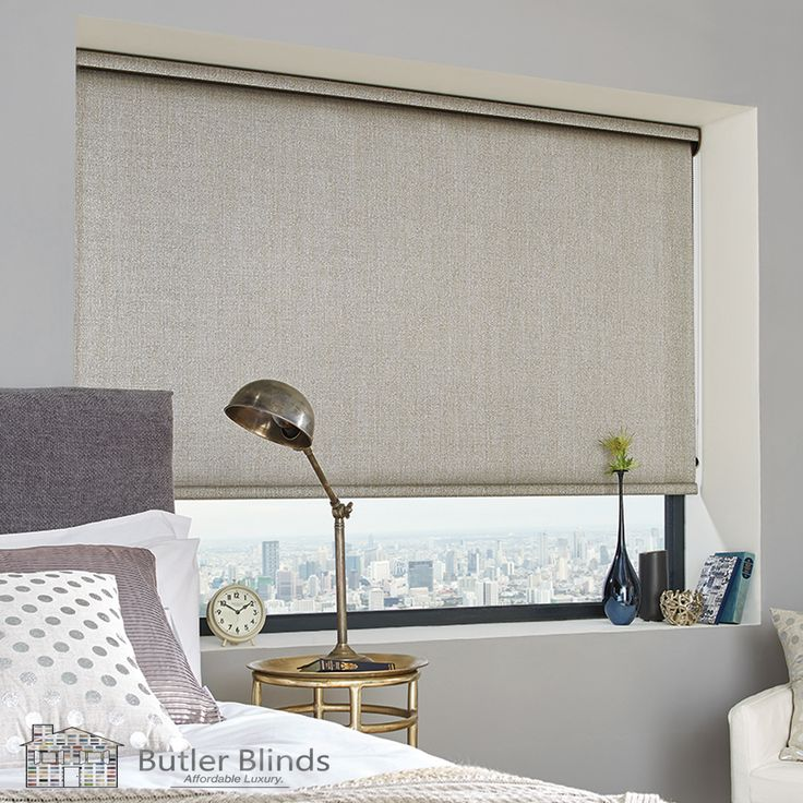 Privacy, warmth and light control are just three of the advantages of having a Roller Blind. Butler Blinds has hundreds of styles to choose from.