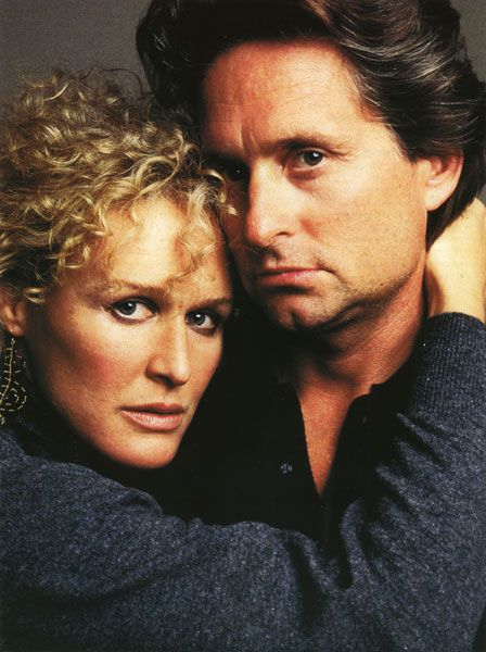 Fatal Attraction is a 1987 psychological thriller directed by Adrian Lynne. Nominated for six Oscars.....Douglas and Close both give riveting performances while the film has achieved cult status.