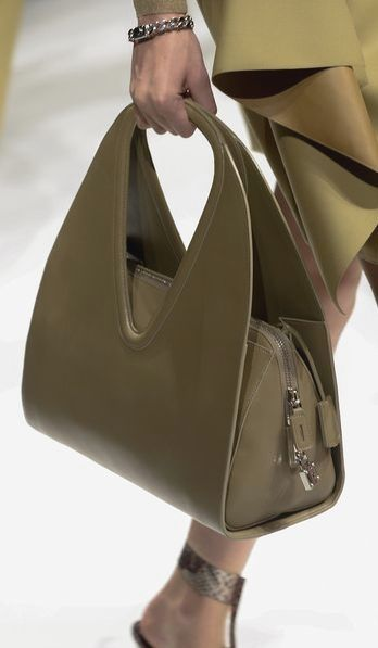 Salvatore Ferragamo Green Tote Vintage Leather Handbags