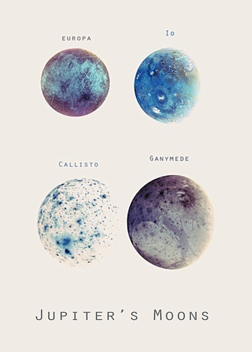 Jupiter's moons. Other than earth they are my favourite rocks in our solar system!