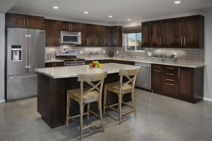 Transitional  Edge of Urban, Shaker style cabinets in ...