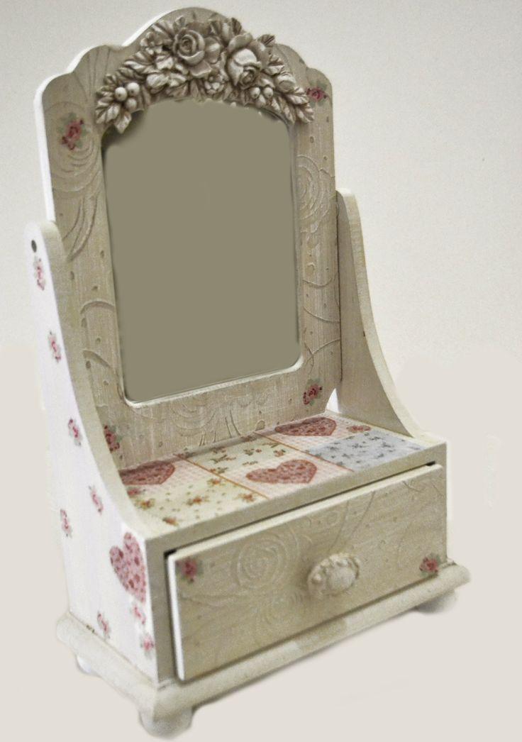 shabby chic drawer  Lne's artwork