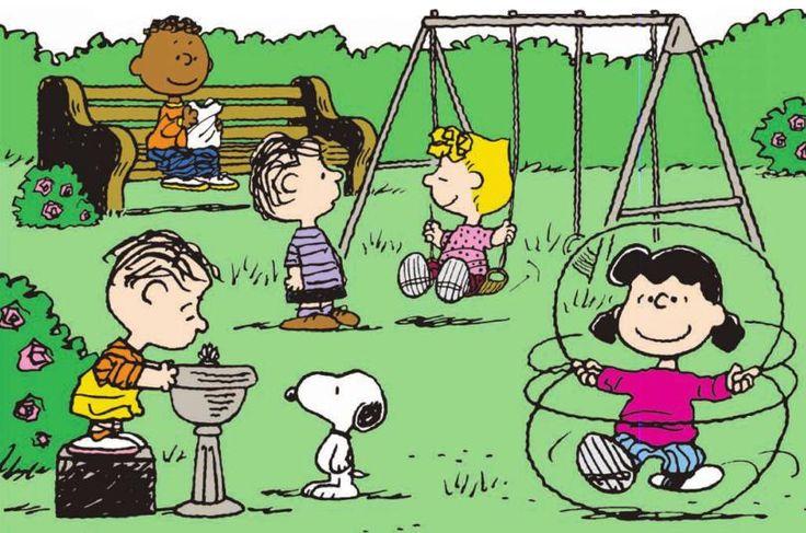Recess Peanuts Gang Class Clip