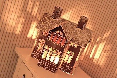 It's a house: Årets pepparkakshus och recept på deg