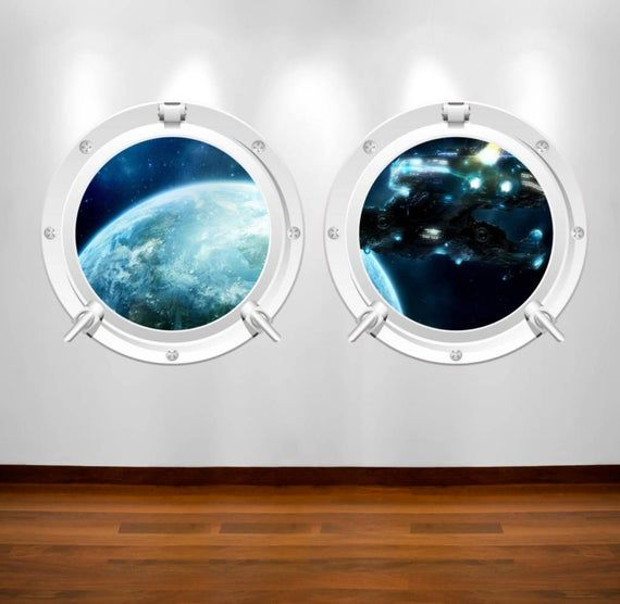 Pin On Porthole Wall Decals