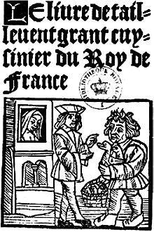 Le Viandier - Wikipedia, the free encyclopedia