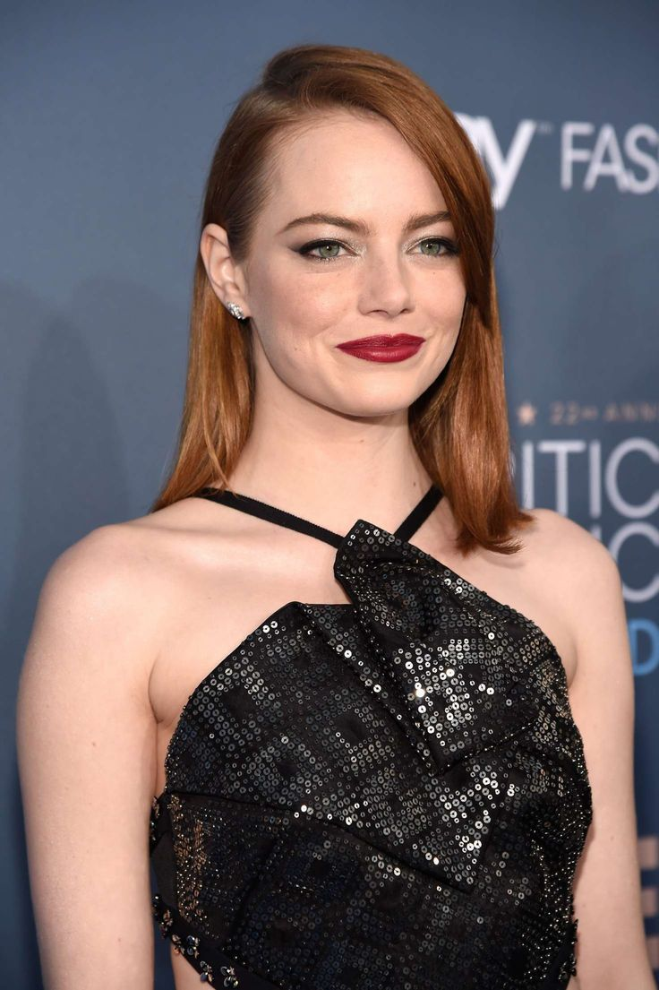 Emma Stone In Roland Mouret At 22nd Annual Critics Choice Awards