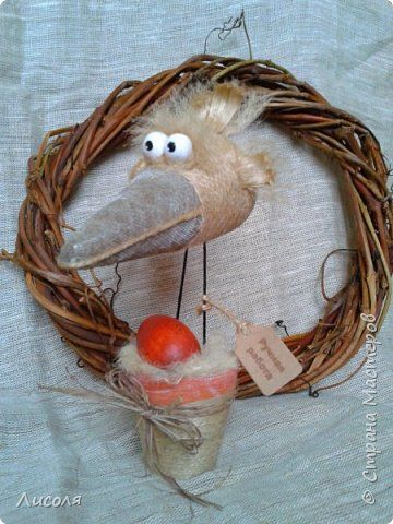 Доброго времени суток, дорогие люди! Девочки!!! Всех-всех поздравляю с праздником Весны! Всего-всего-всего вам самого-самого-самого!!!!!!!! Весна идет! Весне дорогу! Вот такие птахи появились. Первая - что-то типа вороны... фото 1