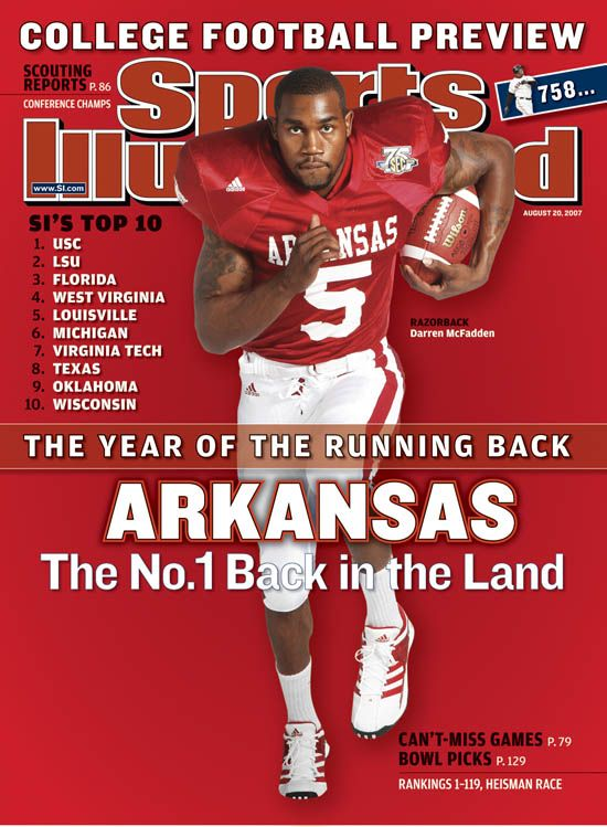 arkansas razorbacks football | SI Darren McFadden Cover