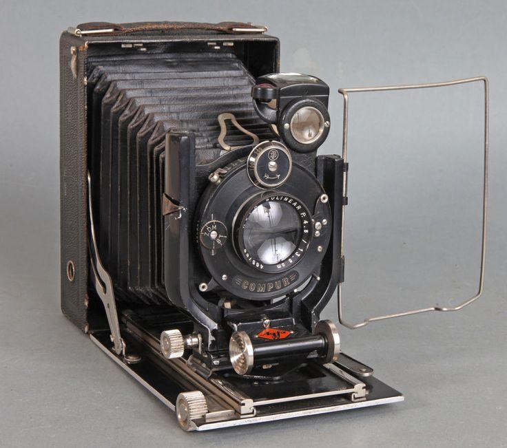 AGFA Isolar 9 x 12 Plattenkamera, Folding Plate Camera 1927-35