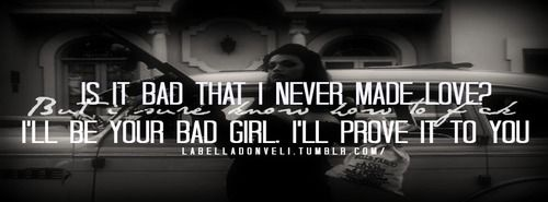 wale bad quotes tumblr - photo #34