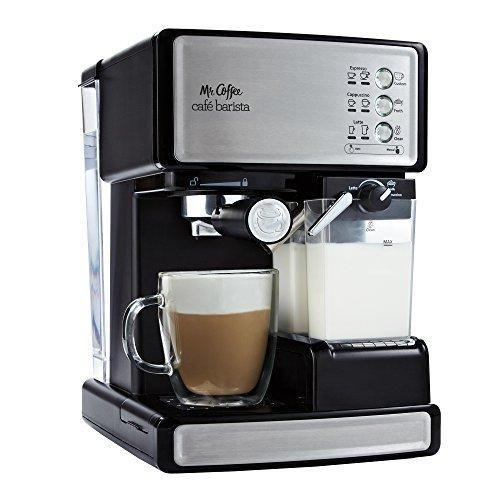 Mr. Coffee ECMP1000 Café Barista Premium Espresso/Cappuccino System Silver