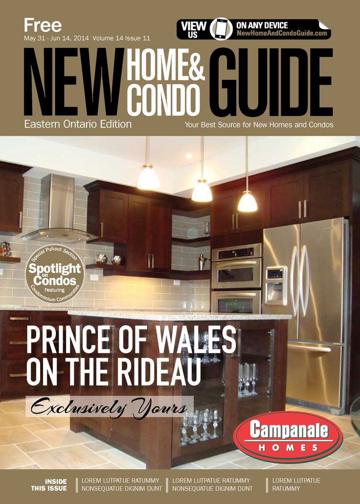 New Home & Condo Guide, Eastern Ontario Edition (Vol. 14, Issue 11), page 3 of 3