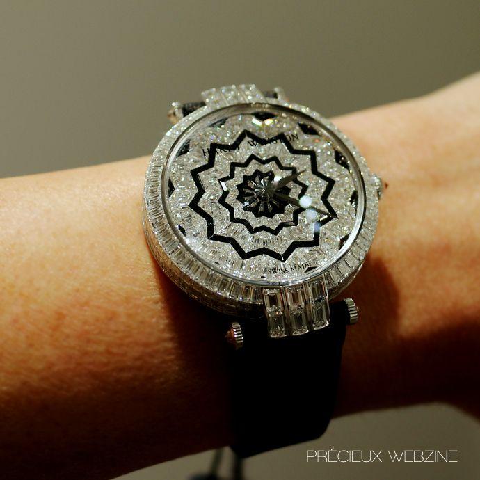 Premier Hypnotic Star Automatic timepiece, Harry Winston