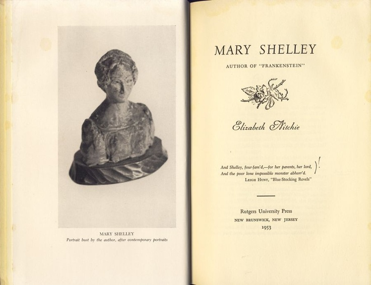 the outcast archetype in frankenstein a novel by mary shelley In search of mary shelley: the girl who wrote frankenstein  that mary composed her canonical novel frankenstein, creating two of our most enduring archetypes.