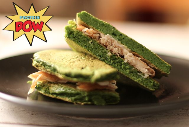 Low-Carb Spinach Protein Bread