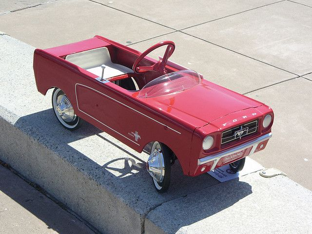 Pedal Car, 1965 Mustang Peddle Car 1 by Jack_Snell, via Flickr