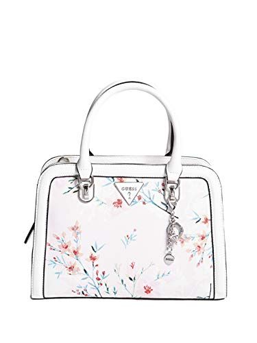 ca30a6fbe41f9 Beautiful GUESS Factory Women s Braelyn Floral-Print Satchel Women Bag.    52.49  newforbuy