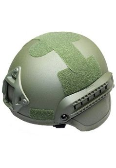 Mich 2000 Combat Military Helmet with Built-In ARC Rail adapter NVG Mount Olive ! Buy Now at gorillasurplus.com