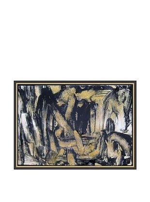 Jordan Carlyle Liquid Dissolve Framed Art