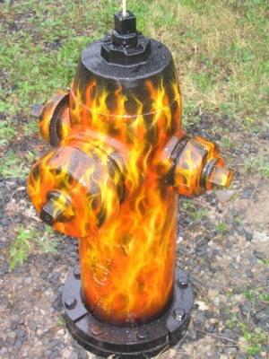 Classy fire hydrant!