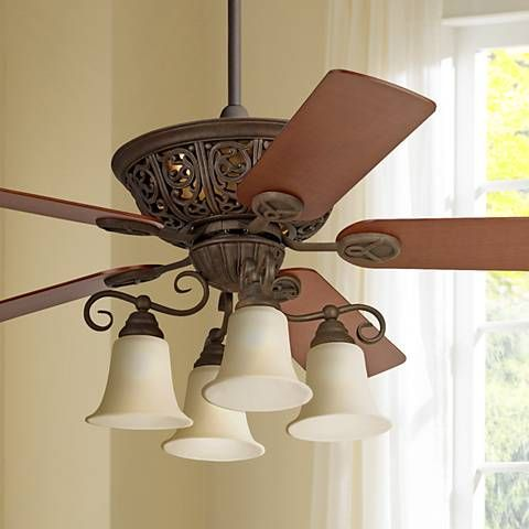 52 Costa Del SolTM Scroll Ceiling Fan