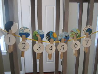 Earth Day Activities - teaching creation Raising Little Disciples: Day 1- Night and Day