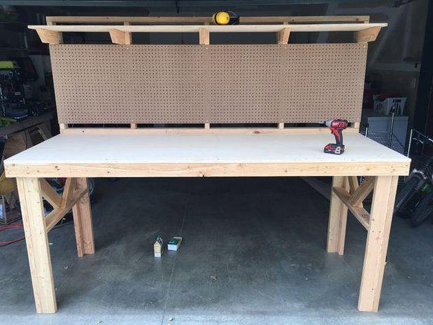 garage workbench ideas pinterest - 10 best ideas about Garage Workbench on Pinterest