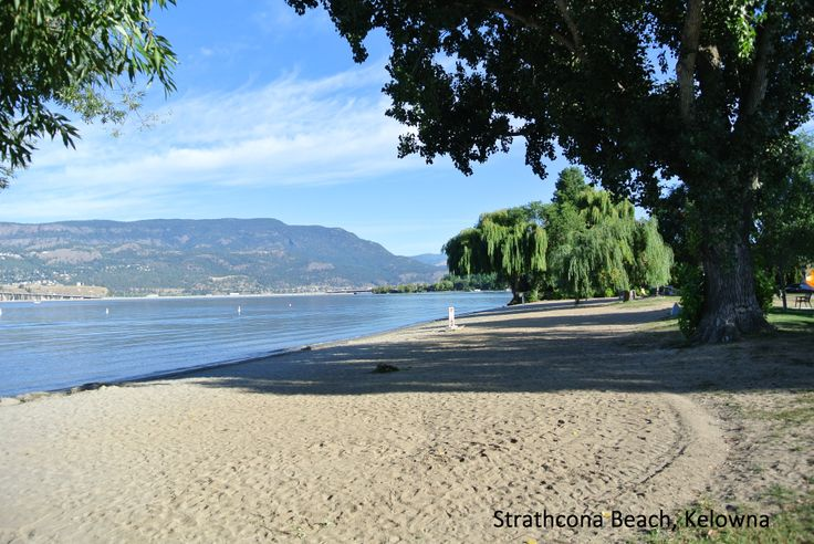 Strathcona Beach in Kelowna, BC -- Curated by: Neufeld Jones | 103-1553 Harvey Ave, Kelowna, BC V1Y 6G1 | 250-717-5027