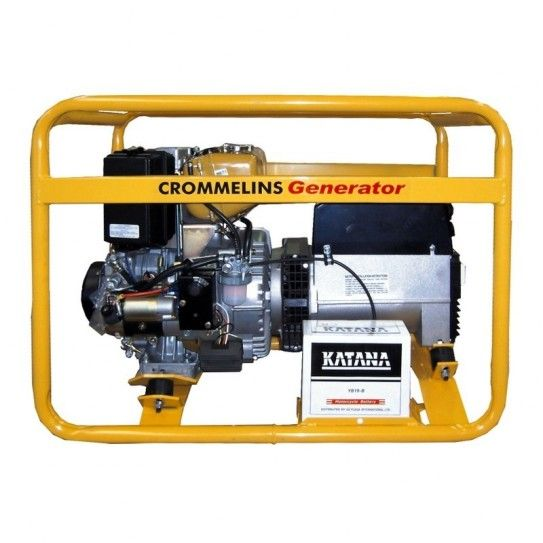 Crommelins Subaru Powered 5vKA Diesel 3 in 1, 180amp Welder genset, with electric start. The ideal workmate for every jobsite, the Crommelins workstation provides a welder, generator and battery charger in one powerful and compact package.