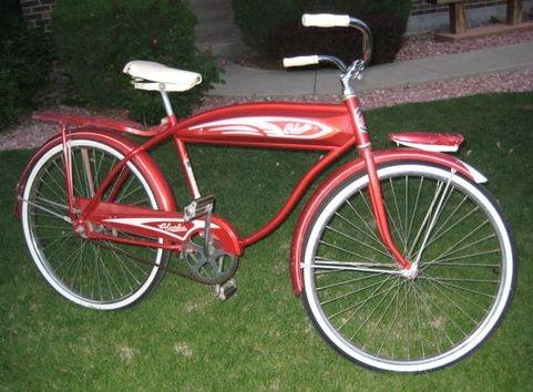 Sweet Vintage 1940s Columbia Torpedo Cruiser Bike Vintage