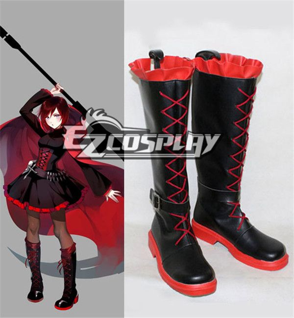 RWBY Red Ruby Cross Cosplay Boots(included the ruby corset price) #Everyone Can Cosplay! Cosplay costumes #Anime Cosplay Accessories #Cosplay Wigs #Anime Cosplay masks #Anime Cosplay makeup #Sexy costumes #Cosplay Costumes for Sale #Cosplay Costume Stores #Naruto Cosplay Costume #Final Fantasy Cosplay #buy cosplay #video game costumes #naruto costumes #halloween costumes #bleach costumes #anime