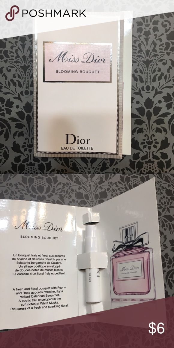Miss Dior Perfume Miss Dior Perfume travel size. Brand new in packaging.  • No Trades. Price is firm. 15% off of bundles of 3 or more • Dior Makeup