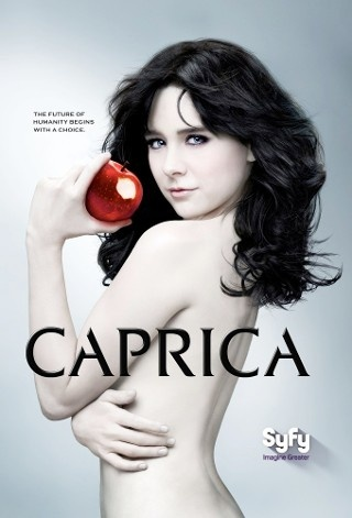 Caprica Syfy TV series about the uprising of the 'Cylon'