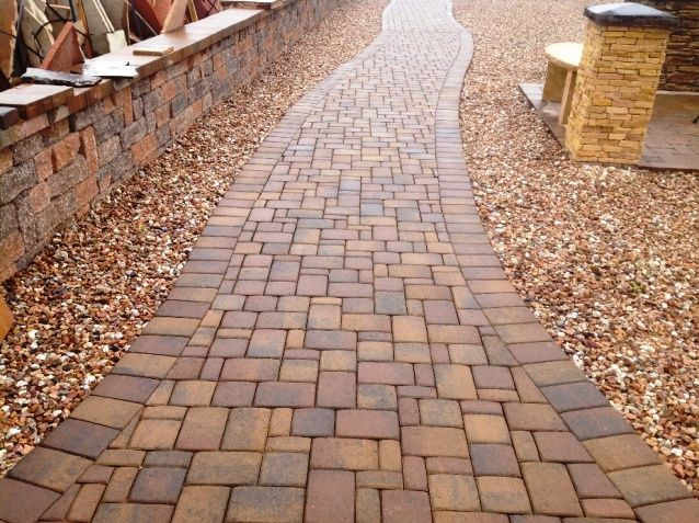 40 best patio, walkway, driveway design ideas images on pinterest ... - Patio Walkway Ideas