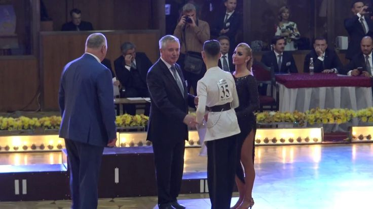 WDSF World Championship Junior II Ten Dance*MARIA SI COSMIN*Premieri