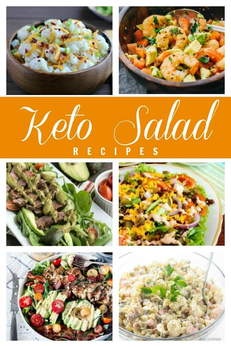 19 Filling Keto Salads To Keep You Satisfied For Hours Keto