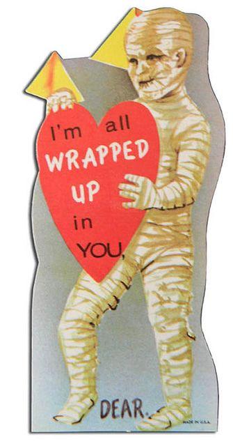 Vintage Valentine: Mummy by pageofbats, via Flickr