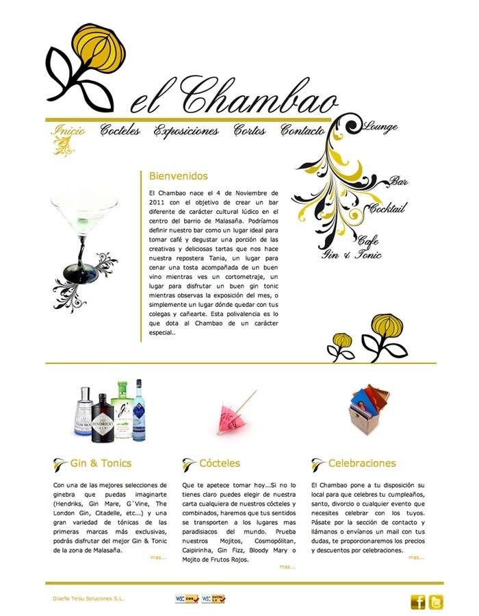 Web El Chambao (HTML + JS)