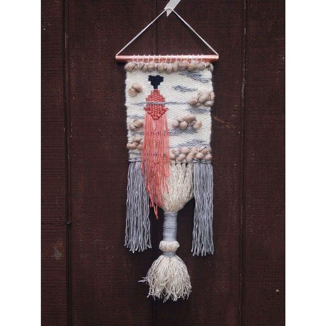 Woven Wall Hanging // Weaving Tapestry
