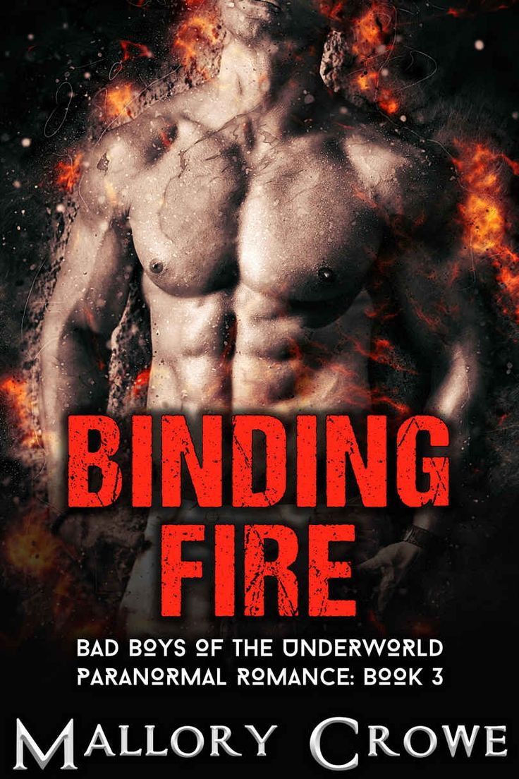 Binding Fire: Paranormal Romance (bad Boys Of The Underworld Book 3)   Kindle