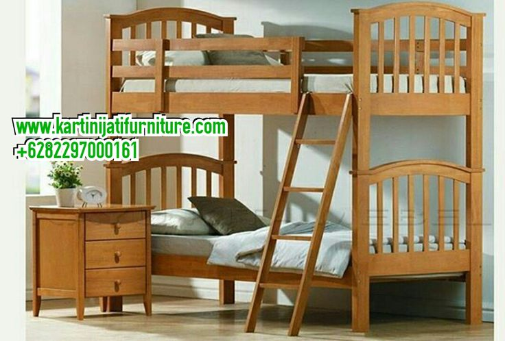 Selain itu Tempat tidur tingkat minimalis Jati juga kita ...