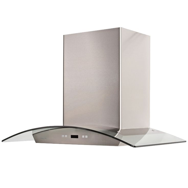 "Cavaliere 36"" Wall Mount Range Hood Timer Function & Aluminum Grease Filters"