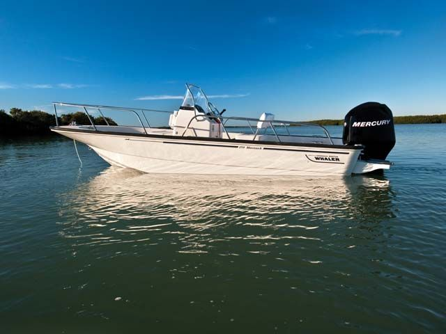 My boat :) Should be on the lake in the next two weeks!    Boston Whaler Boats | 2012 Boston Whaler 170 Montauk