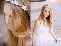 Braut Haarreif Süßwasserperlen Haarschmuck Blumen