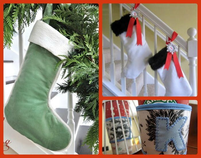 35 Christmas Sewing Projects: How to Make Christmas Stocking Patterns